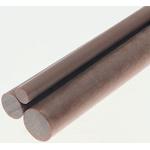 Tufnol Natural Paper Laminated Plastic, 1.17m x 25mm Diameter