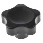 Elesa 166346 Black Multiple Lobes Clamping Knob, M8