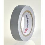 HellermannTyton HelaTape Flex Grey Electrical Tape, 15mm x 10m