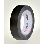HellermannTyton HelaTape Flex Black Electrical Tape, 15mm x 10m