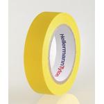 HellermannTyton HelaTape Flex Yellow Electrical Tape, 15mm x 10m