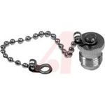 connector accessory,rf coaxial,tnc female cap and 100 mm chain