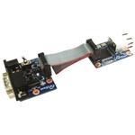WIZnet Inc RS-232 WIZ107SR Evaluation Board WIZ107SR-EVB