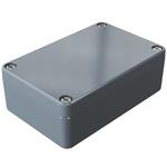 Rose Aluminium Standard, Grey Aluminium Enclosure, IP66, 98 x 64 x 34mm Lloyds Register, Maritime Register, UL 508