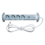 Legrand 1.5m 4 Socket Type E - French Extension Lead