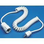 Kopp 2.5m Power Cable, CEE 7/3, Schuko to CEE 7/4, Schuko, 16 A, 250 V