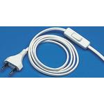 Kopp 2m Power Cable, Europlug to Unterminated, 2.5 A, 250 V