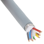 Lapp 4 Pair Screened Multipair Industrial Cable 0.34 mm²(IEC60332-1) Grey UNITRONIC� FD CP Series