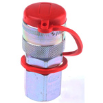 CEJN Steel Female Hydraulic Quick Connect Coupling, G 1/4 Female