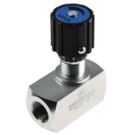 RS PRO Line Mounting Hydraulic Flow Control Valve, G 1/2, 350 bar