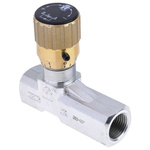 RS PRO Line Mounting Hydraulic Flow Control Valve, G 1/2, 210 bar