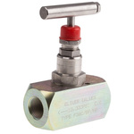 RS PRO Line Mounting Hydraulic Flow Control Valve, BSP 3/8, 700 bar