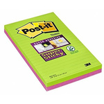 Post-It Green Sticky Note, 203mm x 127mm