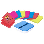 Post-It Blue, Green, Orange, Red Sticky Note, 90 Notes per Pad, 76mm x 76mm