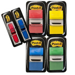 Post-It Assorted Sticky Note, 25.4mm x 43.2mm