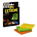 Post-It Assorted Sticky Note, 3 Notes per Pad, 76mm x 76mm