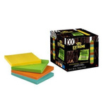Post-It Assorted Sticky Note, 12 Notes per Pad, 76mm x 76mm