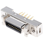 3M Female 20 Pin Straight Through Hole SCSI Connector 2.54mm Pitch, Solder