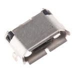 Amphenol ICC USB Connector, SMT, Socket 2.0 B, Solder, Right Angle