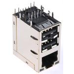 Bel-Stewart, MagJack, Female RJ Socket Module