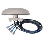 1399.59.0005 Huber+Suhner - Dome 4G (LTE), WiFi (Dual Band)  Antenna, Through Hole/Bolted Mount, (2300 → 2500