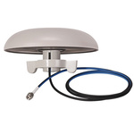1399.19.0224 Huber+Suhner - 2G (GSM/GPRS), 3G (UTMS), 4G (LTE) Antenna, Through Hole/Bolted Mount, SMA