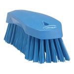 Vikan Blue 36mm Polyester Hard Scrubbing Brush for Multipurpose Cleaning