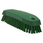 Vikan Green 20mm Polyester Medium Scrubbing Brush for Multipurpose Cleaning