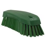 Vikan Green 36mm Polyester Hard Scrubbing Brush for Multipurpose Cleaning