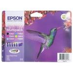 Epson T0807 Black, Cyan, Light Cyan, Light Magenta, Magenta, Yellow Ink Cartridge