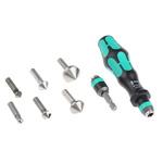 Wera Countersink Set x6.3 mm, 8.3 mm, 10.4 mm, 12.4 mm, 16.5 mm, 20.5 mm8 Piece