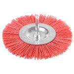 Tivoly Nylon Circular Abrasive Brush, 100mm Diameter