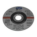 MTI Aluminium Oxide Cutting Disc, 115mm x 1mm Thick, 1 in pack