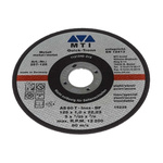 MTI Diamond Cutting Disc, 125mm x 1mm Thick, P80 Grit, 1 in pack