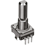 Alps Alpine Incremental Mechanical Rotary Encoder with a 6 mm Flat Shaft (Not Indexed), Through Hole