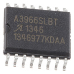 Allegro Microsystems A3966SLBTR-T, Stepper Motor Driver IC, 30 V 0.65A 16-Pin, SOIC W