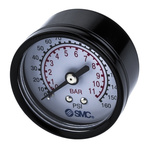"Pressure gauge 50mm x 1/4"" backmount"