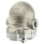 Spirax Sarco 4.5 bar Stainless Steel Ball Float Steam Trap, 1/2 in BSP