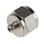 Nipple for use with LAGD Series Lubricator, TLMR Series Lubricator, TLSD Series Lubricator