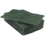 RS PRO Green Scourer 225mm x 150mm x 5mm, for Industrial Cleaning Use