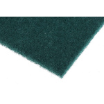 RS PRO Green Scourer 228mm x 152mm x 7mm, for Industrial Cleaning Use