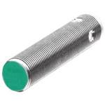 Pepperl + Fuchs M12 x 1 Inductive Sensor - Barrel, PNP Output, 2 mm Detection, IP67, M12 - 4 Pin Terminal