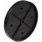 Trumeter Encoder Wheel Circumference 50cm, 7mm Wheel Bore Rubber Covered Plastic