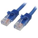 Startech Blue PVC Cat5e Cable UTP, 1m Male RJ45/Male RJ45