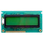 AZ DISPLAYS INC ACM1602B-FL-GBS ACM1602B Alphanumeric LCD Display, Blue, Green, Grey, Yellow on Blue, Green, White,