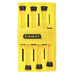 Stanley Precision Phillips, Slotted Screwdriver Set 6 Piece