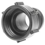 Straight Male Hose Coupling 1-1/2in Female Threaded to Male Cam, 1-1/2 in Female, PP