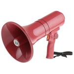 TOA Red Hand Grip Megaphone, ER1215S, 15 W, Siren
