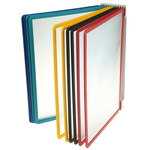 Durable Wall Mounted 10 Panel Presentation Folder