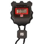 RS PRO Black Digital Pocket Stopwatch, Calibrated UKAS